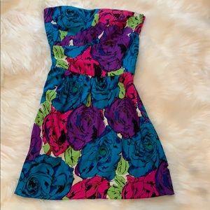 Betsy Johnson floral mini